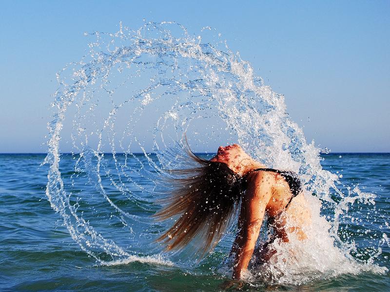 Как сделать красивые на море
